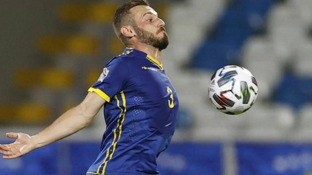 Fidan Aliti, hier im Dress der kosovarischen Nationalmannschaft