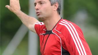 Wohlen-Trainer David Sesa (Archiv)