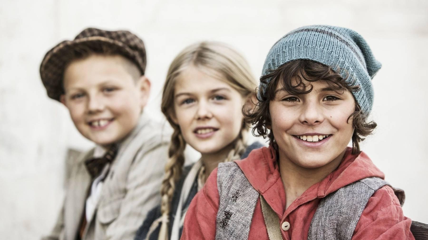 Die Kinderstars aus Schellen-Ursli live erleben.