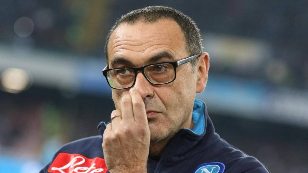 Napolis Trainer Maurizio Sarri droht wegen homophober Äusserungen Ungemach