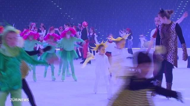 Nervosität bei Kids on Ice