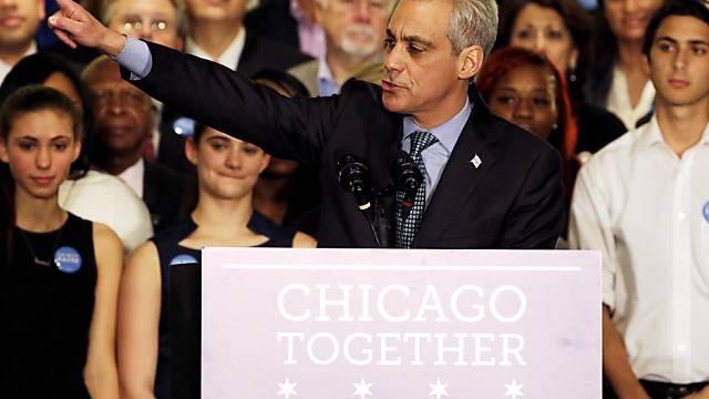 Rahm für Chicago: Klare Sache bei Bürgermeister-Stichwahl