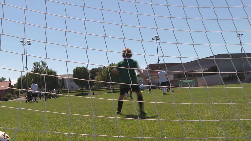 Fussballcamp: In Neukirch darf trotz Corona gekickt werden