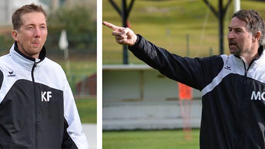 Fünfstück und Grimm waren zwei Jahre lang Trainer beim FC Wil.