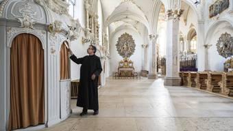 Im Kloster Mariastein leben nur noch 17 Benediktinermönche. Ihre Zahl nimmt konstant ab. (Archivbild)