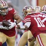 Das «Run Game» der 49ers war gegen die Seahawks nicht sonderlich effektiv.