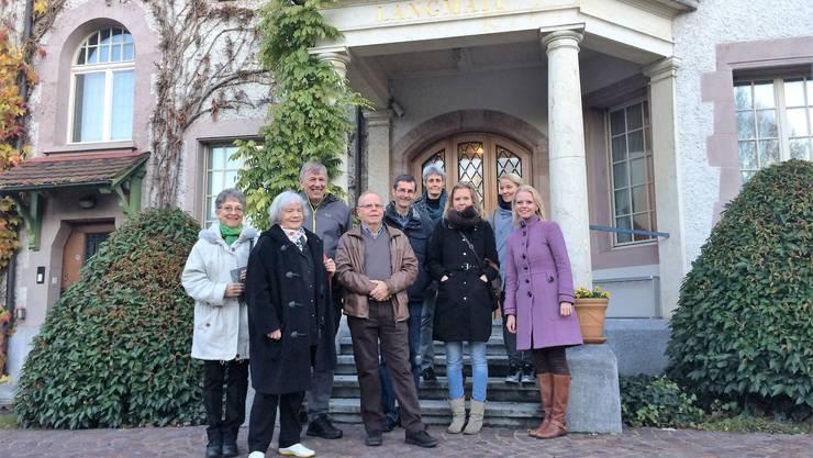 Lilian Studer lädt in die Villa Langmatt ein