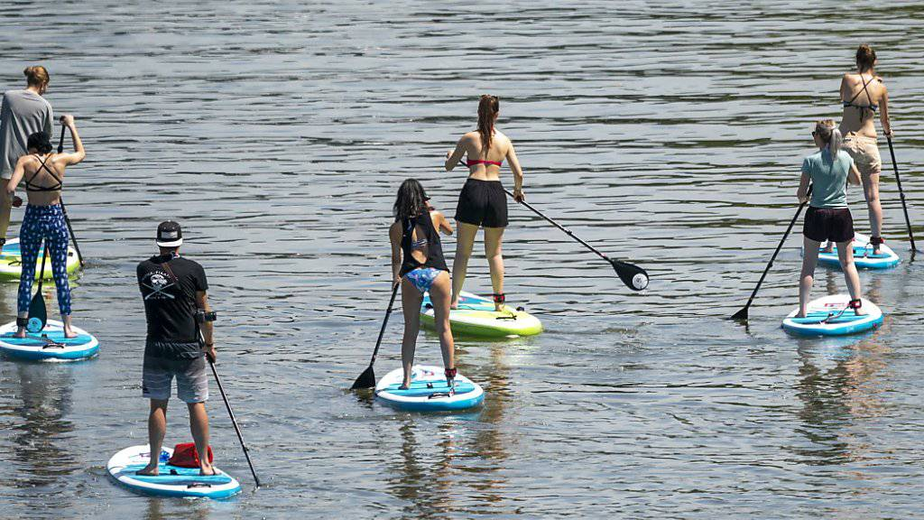 Immer mehr Stand-Up-Paddle-Unfälle