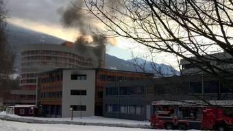 Im betroffenen Gebäude sind rund 200 Personen tätig.