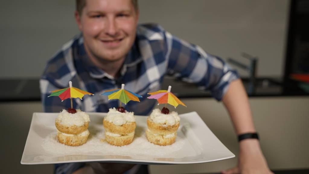 Diese Pina Colada Muffins bringen den Strand zu dir