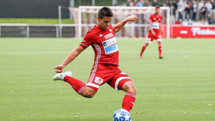 Der FC Baden muss gegen Bassecourt gewinnen, wemnn er an der Spitze bleiben will.