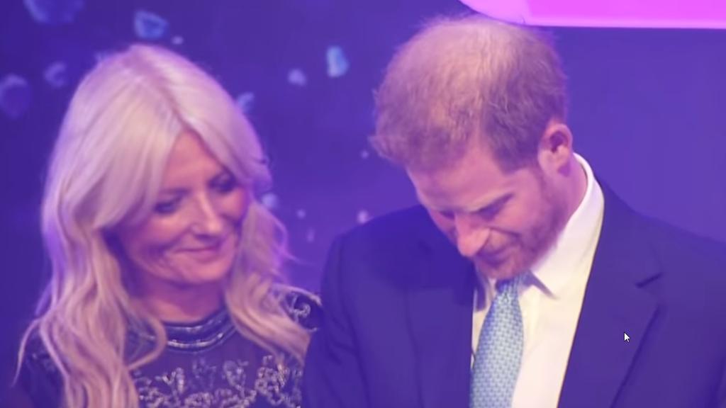 Prinz Harry den Tränen nahe