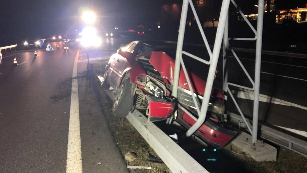 Unfall A13 in Chur