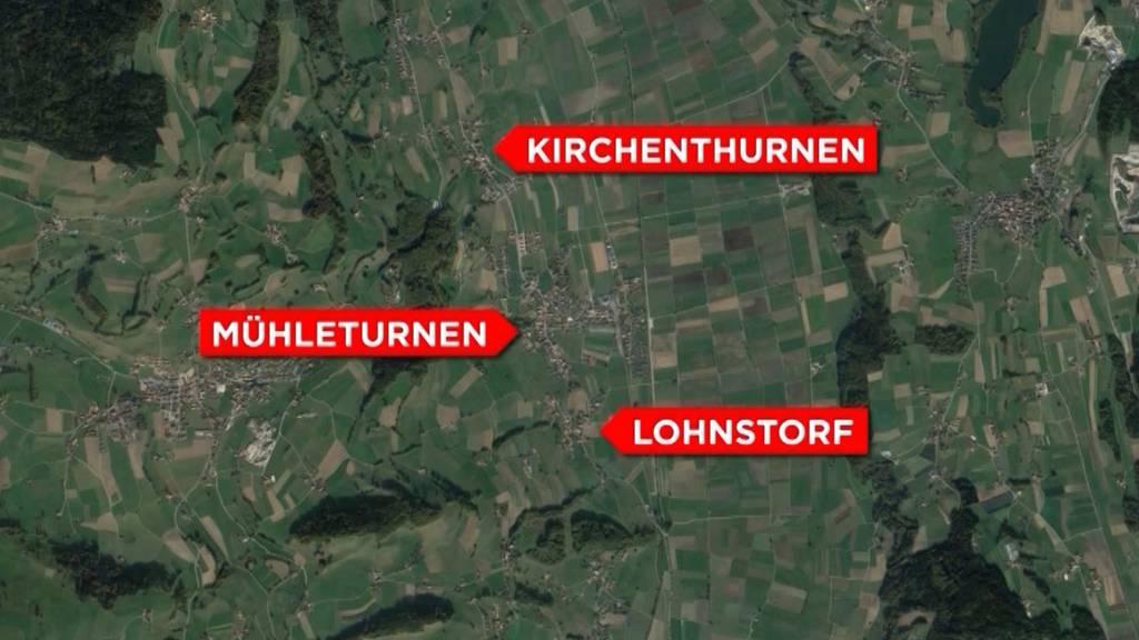 Aus Lohnstorf, Mühlethurnen und Kirchenthurnen wird Thurnen