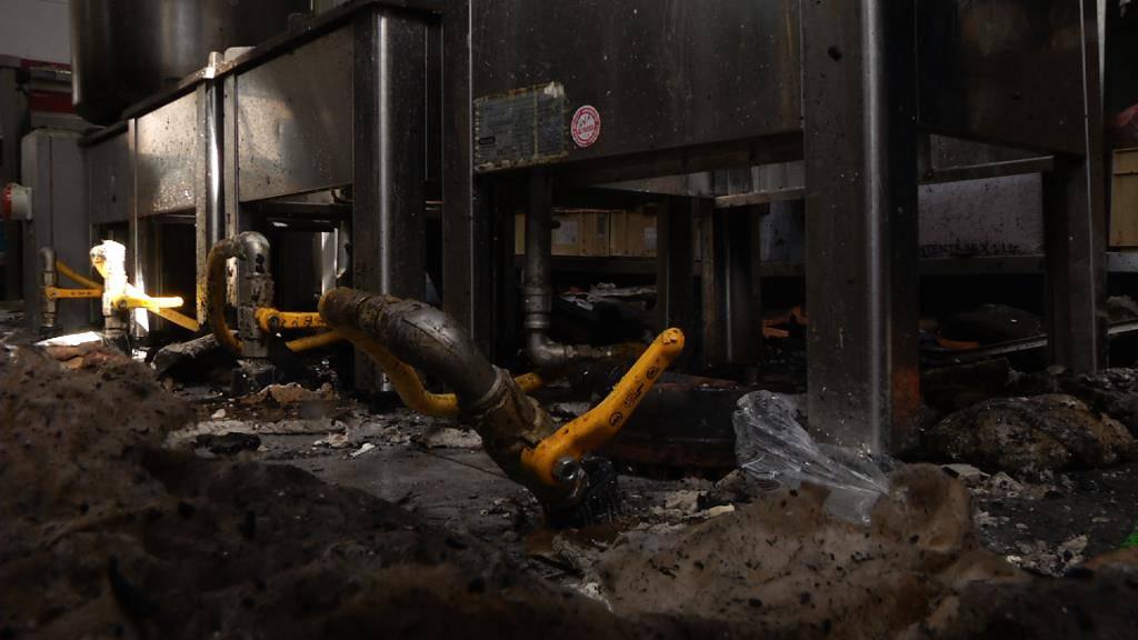Brand bei Wigoltinger Moschee - FM1Today