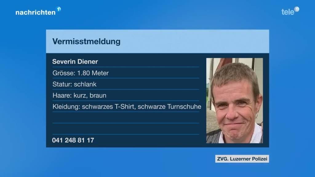 Vermisstmeldung Severin Diener