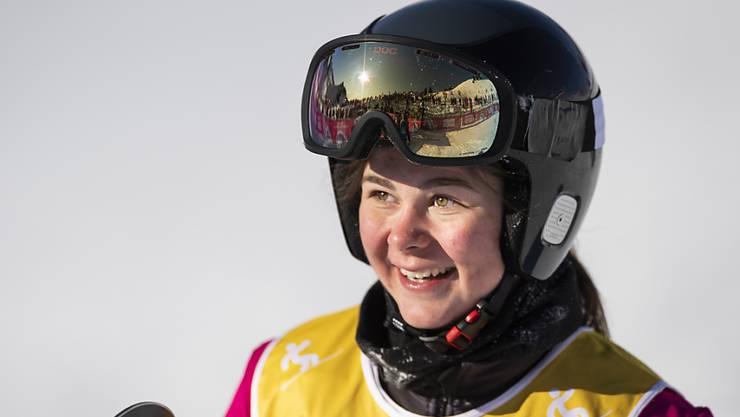 Die junge Goldmdaillengewinnerin Anouk Dörig