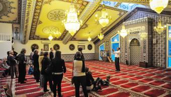 Der Verband der Aargauer Muslime bemüht sich um Transparenz. Hier Tag der offenen Moschee in Wohlen.