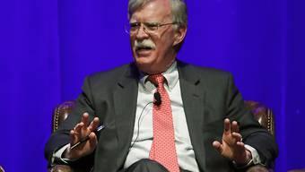 Ein Bundesgericht in Washington lehnte einen Antrag auf eine einstweilige Verfügung ab, mit der die Trump-Regierung die Veröffentlichung eines Buches von John Bolton verhindern wollte. (Archivbild)