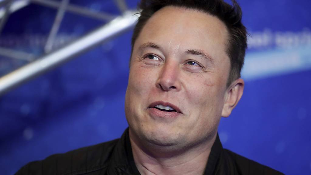 Da hatte er noch gut lachen - Tesla-CEO Elon Musk. (Archivbild)