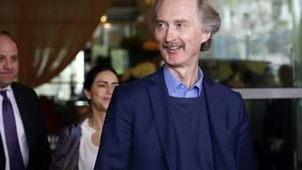 Der Uno-Syriengesandte Geir Pederson wird das Verfassungskomitee in den kommenden Wochen einberufen. (Archivbild)