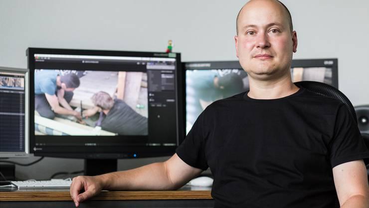 Rolf Lang hat mit seiner Filmcrew von «Redsmoke» bereits erste Aufnahmen für den Kino- Dokumentarfilm gedreht.