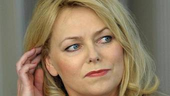 Sorgenvoller Blick: Eva Herman meldet Privatinsolvenz an