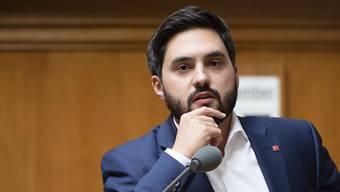 SP-Nationalrat Cédric Wermuth (AG) wirft der Ratsrechten vor, über den Uno-Migrationspakt falsche Behauptungen zu verbreiten. (Archiv)