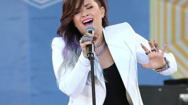 Lieber rund und gesund als schlank und krank: Demi Lovato (Archiv)