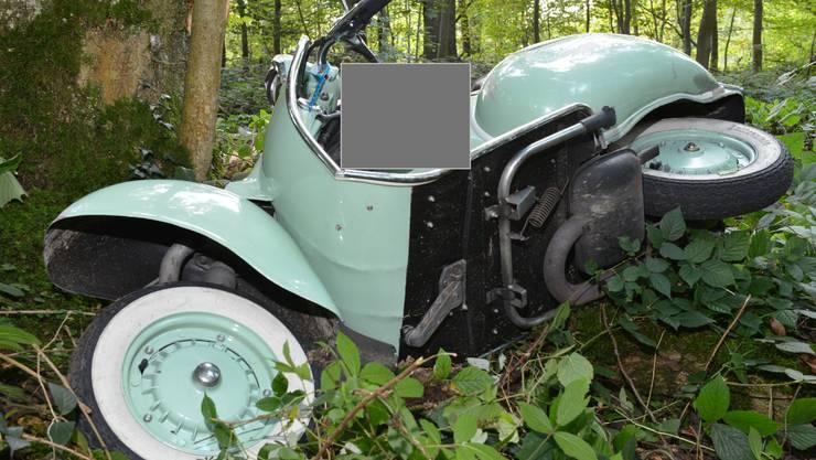 Vespa-Fahrer verunfallte in Sarmenstorf schwer und stirbt noch auf der Unfallstelle