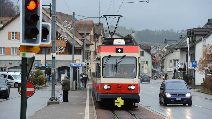 Die Waldenburgerbahn ist die einzige Bahnlinie der Schweiz mit 75-Zentimeter-Spur. Das macht die Beschaffung und Wartung des Rollmaterials umständlich. Juri Junkov