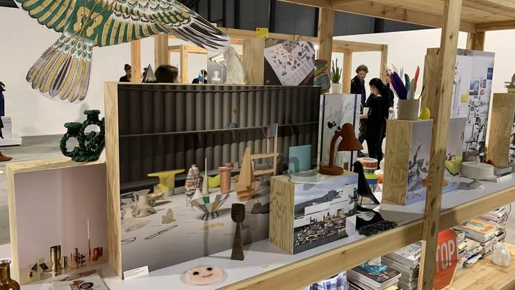 Connie Hüsser wird mit dem Schweizer Grand Prix Design ausgezeichnet.