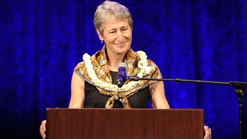 US-Innenministerin Sally Jewell vertritt Präsident Obama beim Weltnaturschutzkongress auf Hawaii.