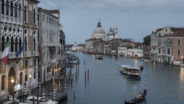 Der Canale Grande in Venedig