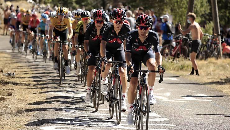 Team Ineos feiert dank Jhonatan Narvaez den Sieg im Giro (Archivbild)