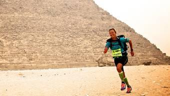 Anne-Marie Flammersfeld rannte vor acht Jahren 250 Kilometer durch die heisseste Wüste der Welt, die Sahara in Ägypten.