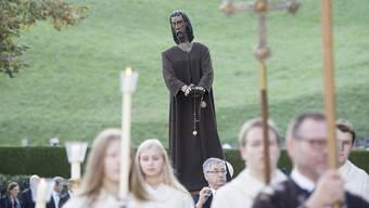 Zu Ehren des Bruder Klaus findet in Sachseln jährlich eine Feier statt - dieses Jahr sind zum 600-Jahr-Jubiläum grössere Anlässe geplant. (Archivbild)