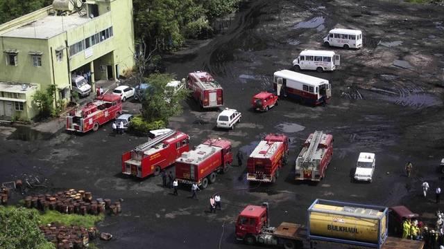 Grosseinsatz der Rettungskräfte in Mumbai