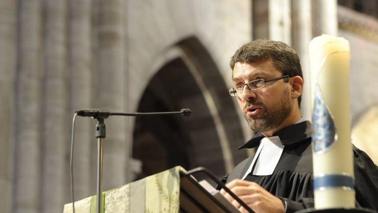 Pfarrer Gottfried Locher hofft auf ein baldiges Ende des Kirchen-Lockdowns.