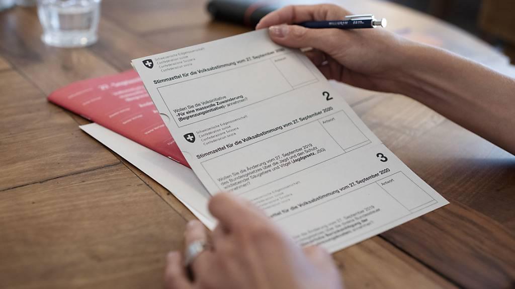 Überdurchschnittlich hohe Stimmbeteiligung zeichnet sich ab