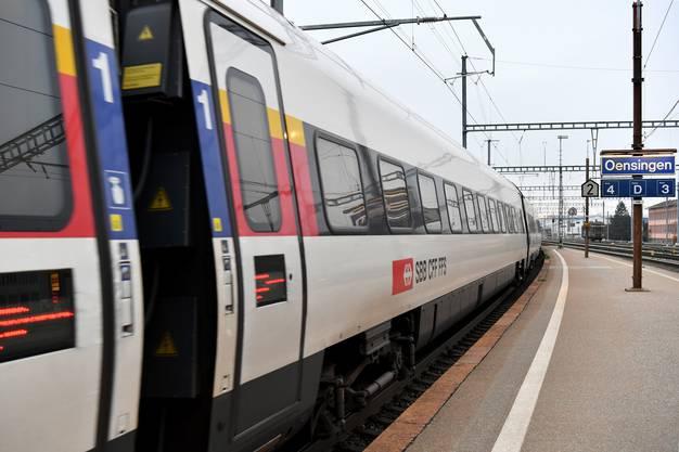 Der Bahnhof Oensingen wird täglich von rund 5'800 Bahnkunden benutzt.
