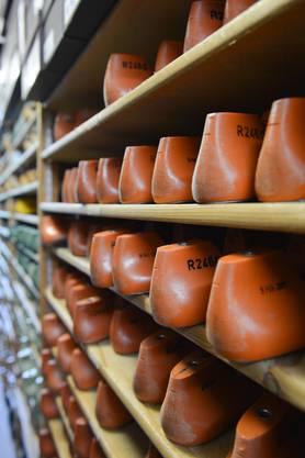 Die sogenannten Leisten aus Holz werden immer wieder verwendet und daher sorgsam aufbewahrt