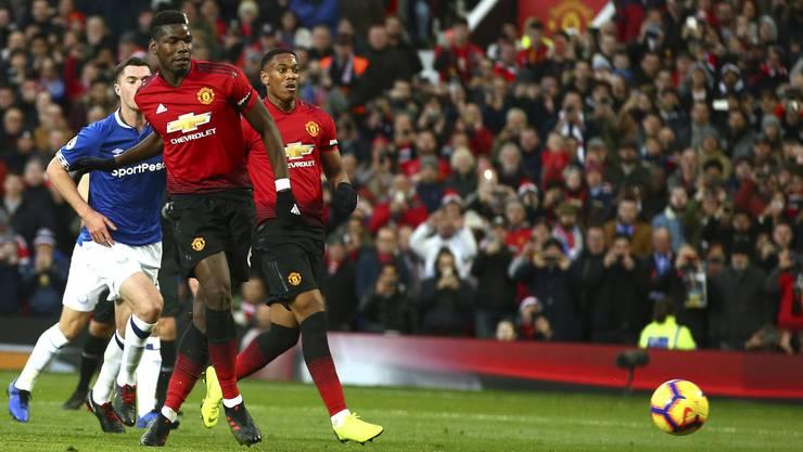 Paul Pogba verschoss gegen Everton einen Penalty traf aber im Nachschuss das soll bald nicht mehr möglich sein