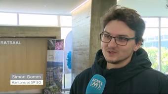 Keine Überraschung in Solothurn: Das Volk stimmt der Umsetzung der Steuerreform deutlich zu. Simon Gomm (SP) gehört zu den wenigen Gegnern der Vorlage, das Resultat ist jedoch auch für ihn keine Überraschung.