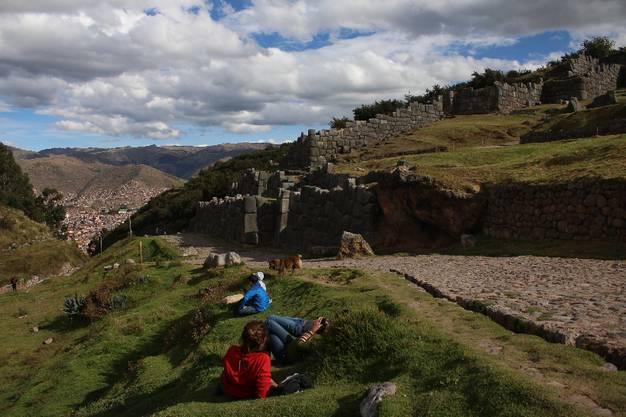Über der Stadt thront dagegen die frühere Inkafestung Sacsayhuaman