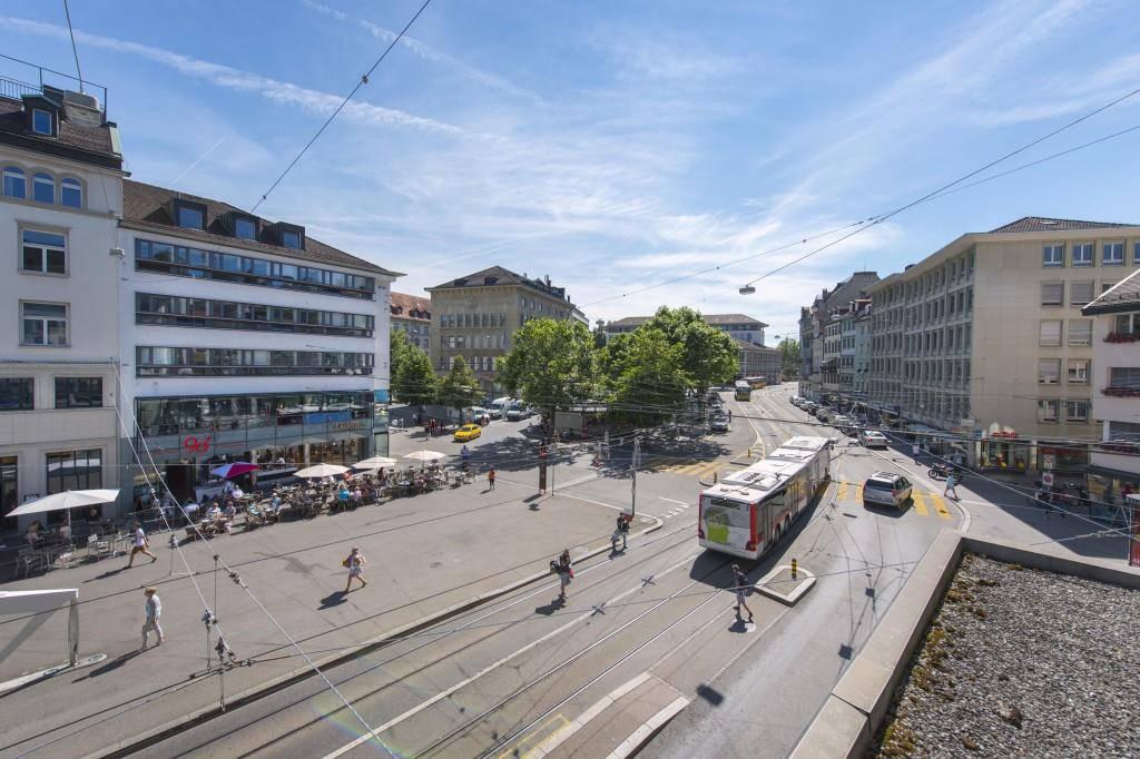 Mit einem Wettbewerb soll die zündende Idee für die Markplatz-Neugestaltung gefunden werden. (© Tagblatt/Urs Bucher)