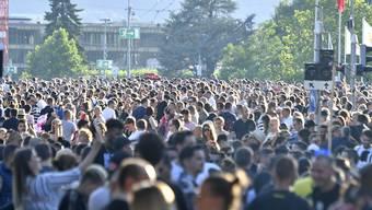 Trotz 2,5 Millionen Besuchern gab es am Züri Fäscht nur wenige gravierende Zwischenfälle.