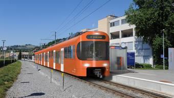 Visualisierung der neuen S7 des Regionalverkehrs Bern-Solothurn.