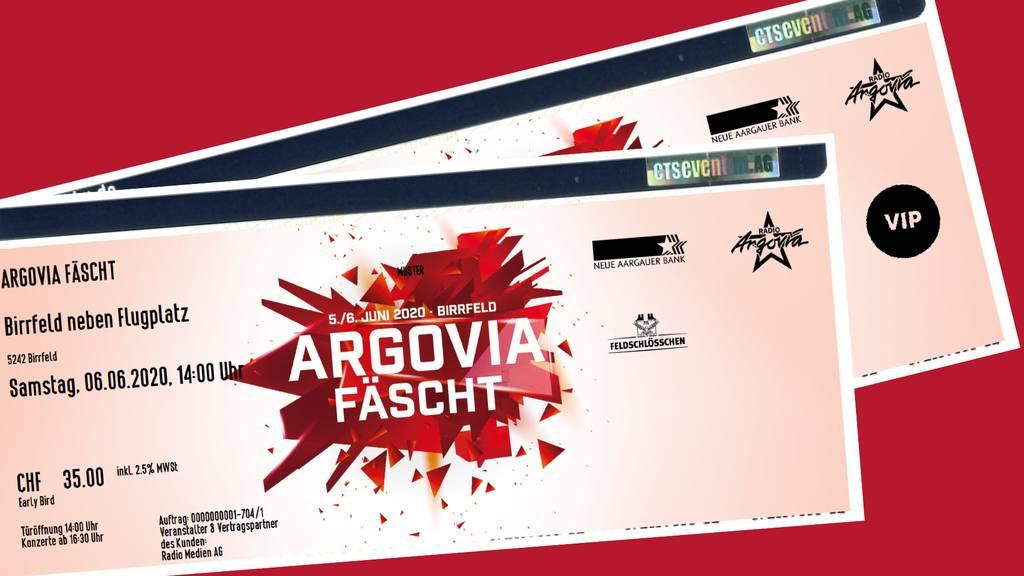 Argovia Fäscht Tickets