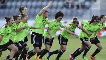 Jubel bei den Frauen von Neunkirch nach dem Cupsieg im Penaltyschiessen
